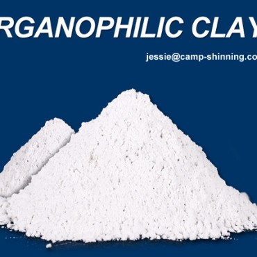 Organoclay organophilic clay use for paints coating inks grease and oil drilling mud