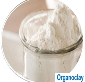 Organophilic clays for making guar slurry | fracturing application