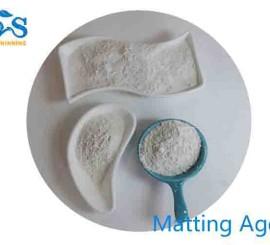 How Do Matting Agents Work