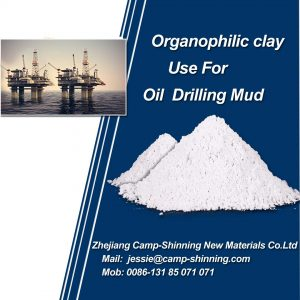 organophilic clay for oil fluid