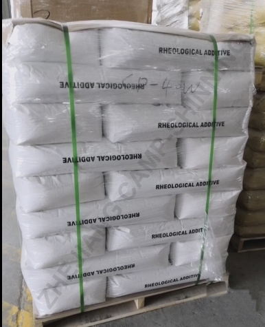Organic bentonite thixotropic agent