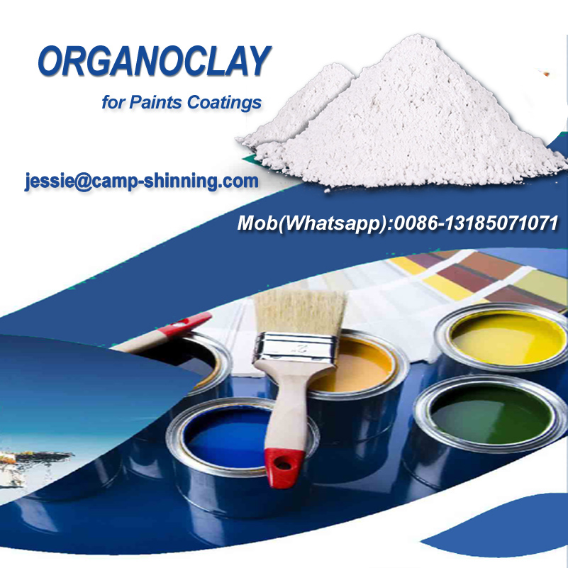 organoclay for multiple uses