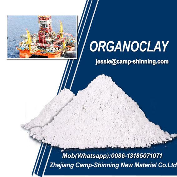 Organophilic clay