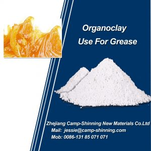 Organoclay for grease